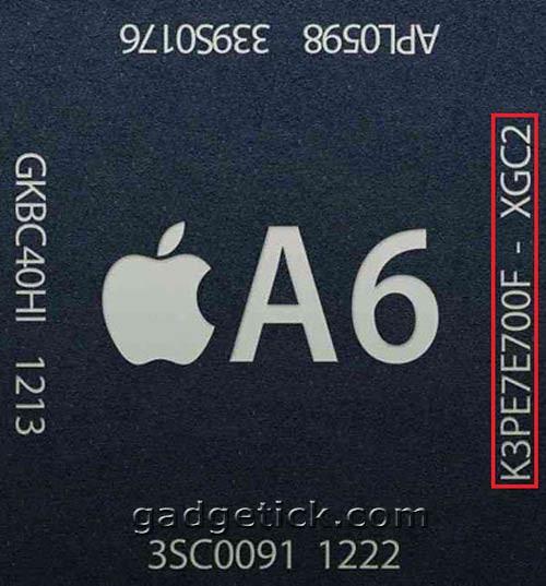 тест iPhone 5