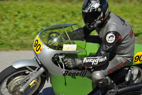 Benelli RS 500 1969 Oldtimer Grand Prix 2012 Schwanenstadt Austria Copyright B. Egger :: eu-moto images 1366
