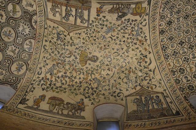 Santa Costanza, tidiga 4th cent.  mosaik (12)