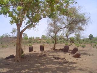 Círculos de pedra Wassu em Kuntaur