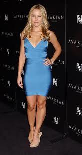 Kristen Bell Bandage Dress Herve Leger Celebrity Style Women's Fashion