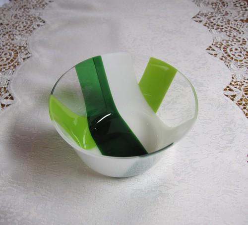 デザート小鉢 緑② by Poran111