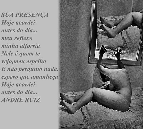 SUA PRESENÇA by amigos do poeta