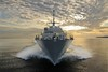 PCU Fort Worth conducts sea trials.