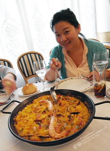 Hola Madrid~ 馬德里。La Panera 餐廳,花  €114  吃大餐!!!!!  R1043939