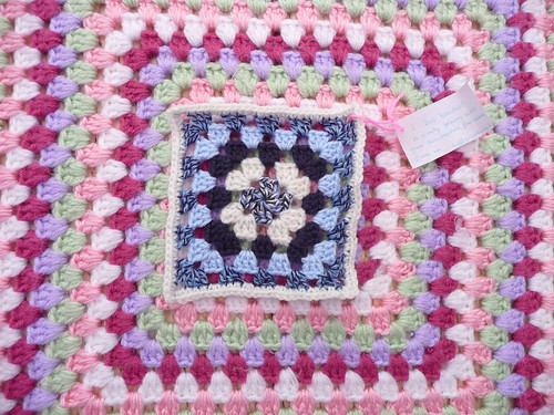 Square for our 200th Blanket, thank you!