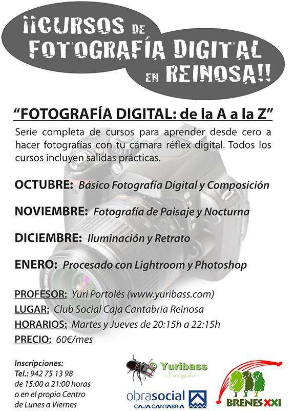 NUEVOS CURSOS DE FOTOGRAFÍA DIGITAL EN REINOSA