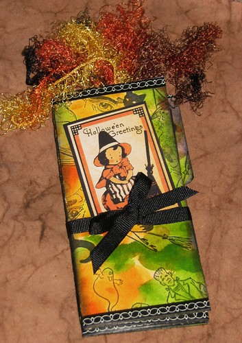 Altered Halloween File Folder Portfolio 001