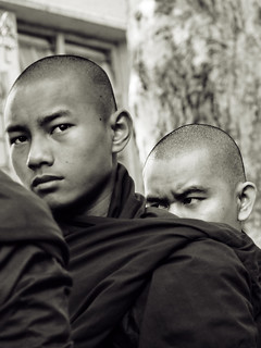 Young monks in Mandalay, Myanmar