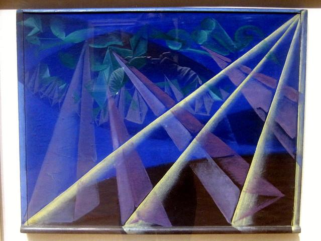 Giacomo Balla - Transformazione di forme spiriti