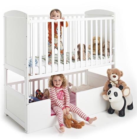 bunk bed cot underneath 1
