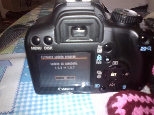 Canon EOS1000D Firmware update