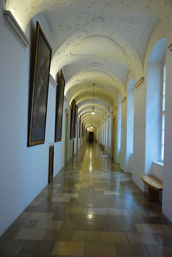 Hallway in the Abbey
