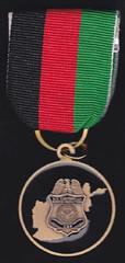 CBP Afghanistan medal reverse