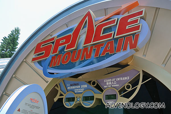The Space Mountain