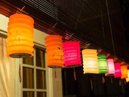 Lanterns lit!