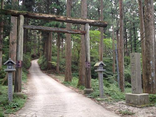 金剛山登山(高天彦神社から)-22