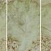 青葉-1,33.5x21cmx5連作. 複合媒材.2011