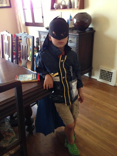 Batman police officer Ezra