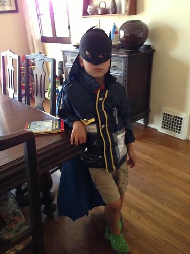 Batman police officer Ezra