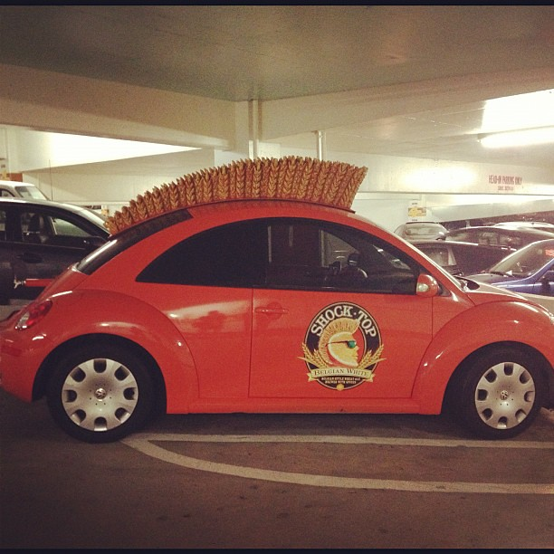 The #ShockTop #VW #Beetle awesome
