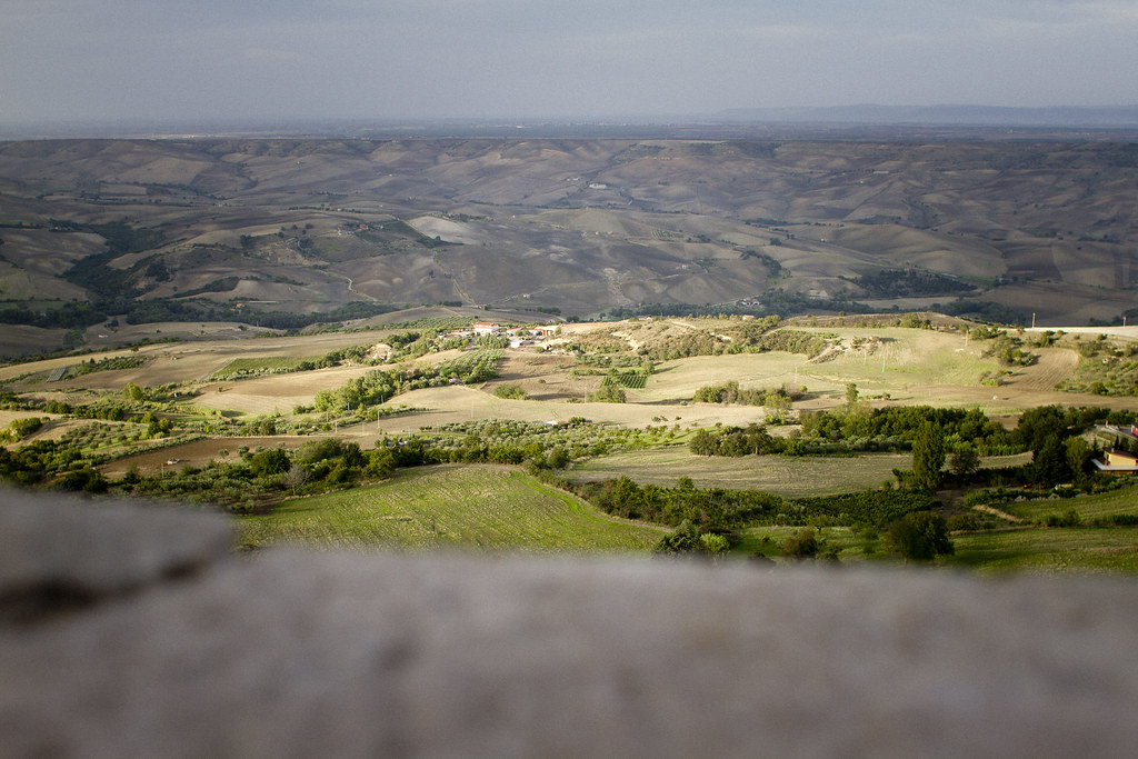 countryside view over Basilicata, Italy 1
