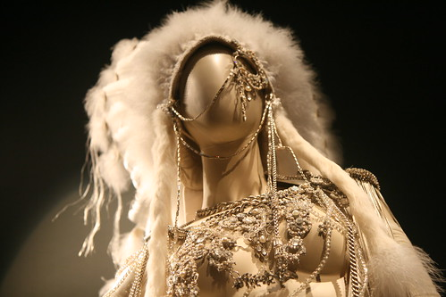 Gaultier Exhibit: Native American Inspired Wedding Dress