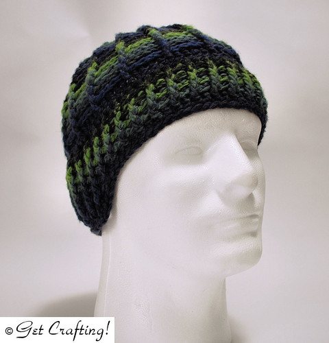 Spiderweb Cables Earwarmer Hat