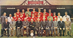 Promotion & 2nd Division Championship for Liverpool F.C. 1961-62