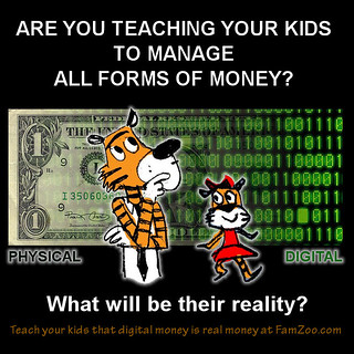Teach Your Kids Now That Digital Money Is Real Money