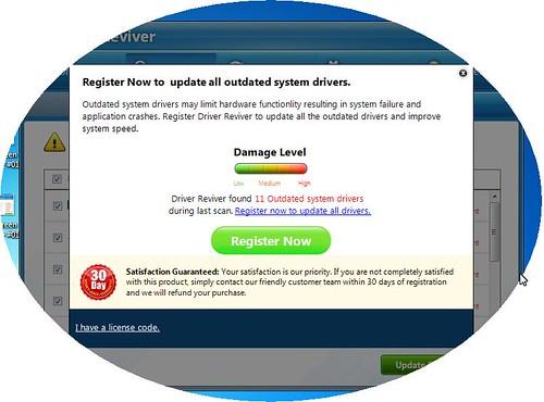 افضل برنامج جلب تعريفات وتحديثها اوتماتيكيا Driver Reviver 4.0