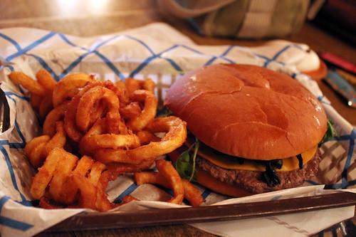 Halloween Angus burger