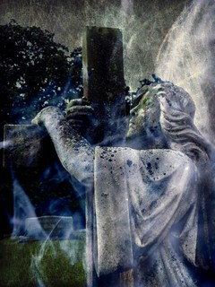 The Aura of Angels:  Old Cherry Hill Cemetery, Greenville, North Carolina