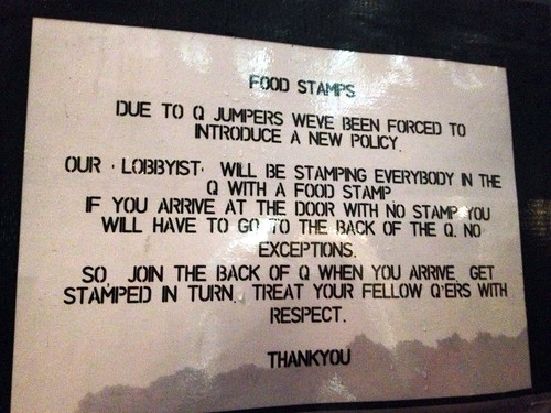 The rules, Meat Liquor