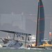 Small photo of Oracle (Spithill) capsize