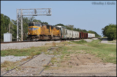 UP 4561 - Edgewood, TX