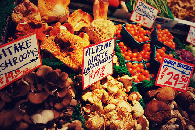 Fantastic fungi at Pike Place Market