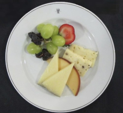 Assorted Cheese and Fruits