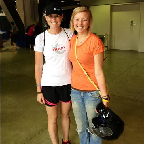 Long Beach Expo thank you @sarahoual husband for the pic! #nuunhtc