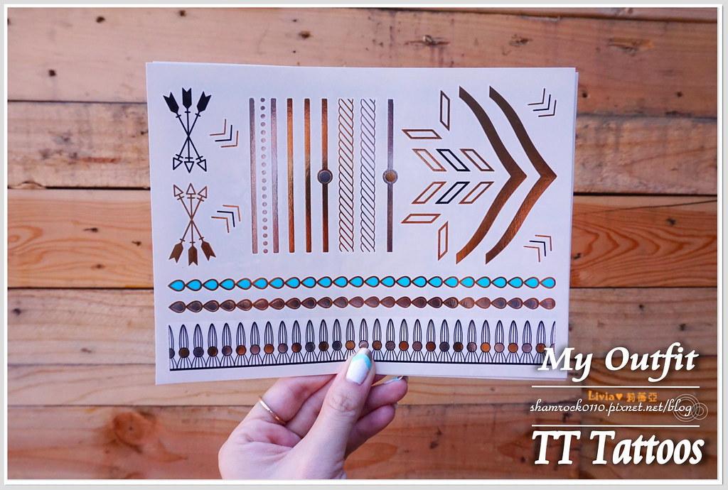 TT Tattoos金屬紋身貼 - 05