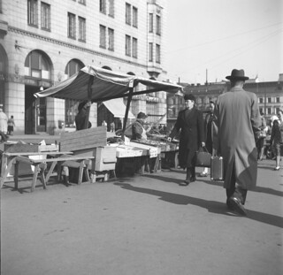 Helsinki, Marketplace 2.6.1947.