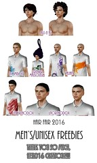 Hair Fair 2016 Gifts - Men's/Unisex Edition