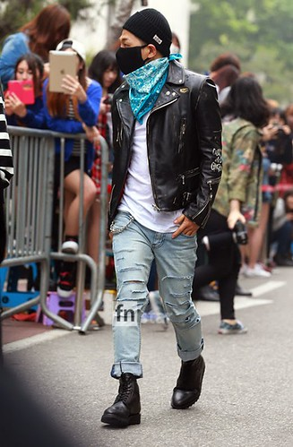 Taeyang BIGBANG KBS Music Bank arrival 2015-05-15 PRESS017