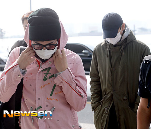 Big Bang - Incheon Airport - 24sep2015 - Newsen - 09