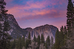Yosemite Falls at Sunset