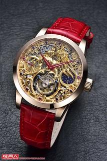 你感受到小宇宙了嗎?《聖鬥士星矢》30週年黃金射手座陀飛輪腕錶 特別專題