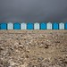 Charmouth Beach Huts by Silver Machine