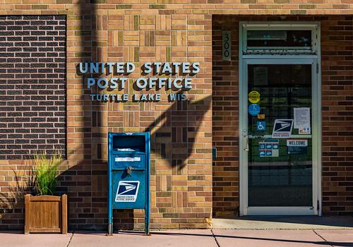 US Post Office - Turtle Lake, Wisconsin