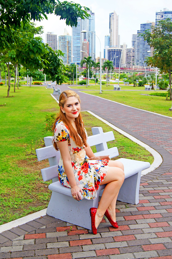 Floral dress by The Joy of Fashion (8)