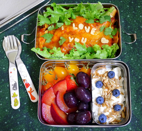 Enchiladas of Love Bento by sherimiya ♥
